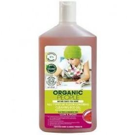 Gel ecologic pentru pardoseli cu Santal 500ml Organic People