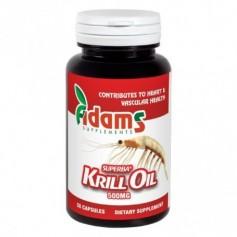 Krill Oil, 500Mg 30 capsule Adams