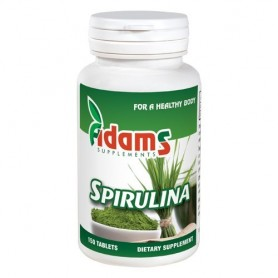Alga Spirulina 400mg 150tab Adams Supplements