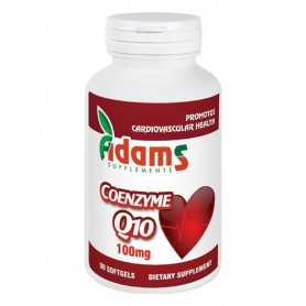 Coenzima Q10 100mg 90cps. Adams Supplements