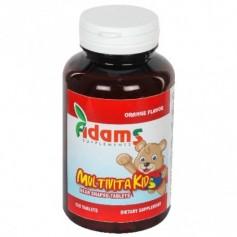Multivitamine, MultivitaKid 120 tablete masticabile