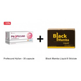 Pachet Profecund 30 capsule + Black Mamba Liquid 8 Sticlute