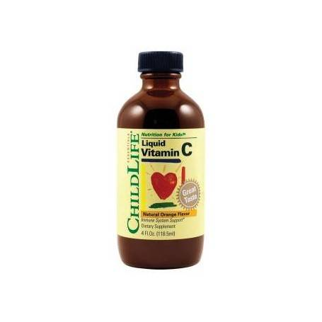 VITAMINA C 250mg (copii) 118.50ml (gust de portocale)