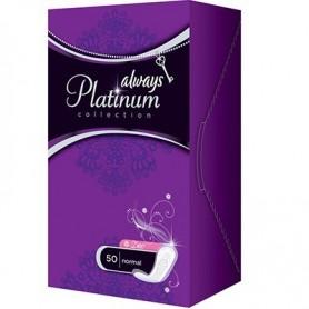 Absorbante Always Platinum Liners Deo 50 Buc