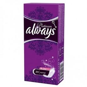 Absorbante Always Platinum Liners Deo 20 Buc