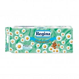 Hartie Igienica Regina Camomilla 10 Role, 3 Straturi
