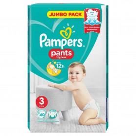 Scutece Pampers Active Baby Pants 3 Jumbo Pack 60 Buc