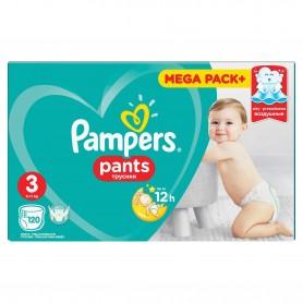 Scutece Pampers Active Baby Pants 3 Mega Box 120 Buc