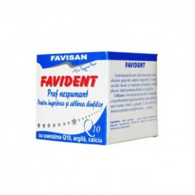 Favident Praf Nespumant cu Coenzima Q10 Favisan - 50 ML