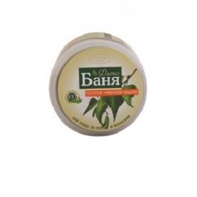 Sapun Dens Negru Pentru Par si Corp pe Baza de Gudron de Mesteacan si Extracte din Plante Medicinale - 300 g