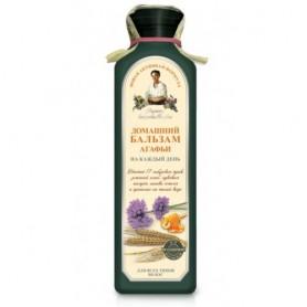 Balsam de Casa pe Baza de Apa de Gheata cu 17 Plante Siberiene pentru Toate Tipurile de Par - 350 ML