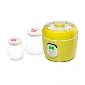 Iaurtiera Fermentator FE0205D/GA 2 Vase de Sticla 1L si 2L, Afisaj LED Verde Oursson