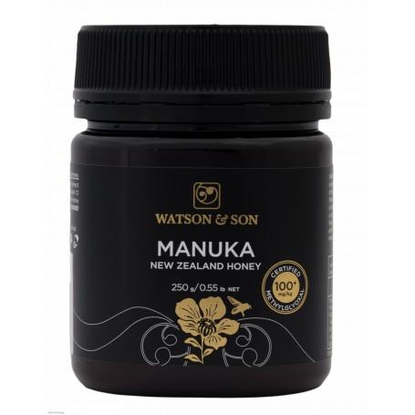 Miere de Manuka MGO 100+ ( UMF 5+) 250 gr Watson & Son pret ieftin