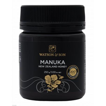 Miere de Manuka MGO 200+ ( UMF 8+) 250 g Watson & Son pret ieftin
