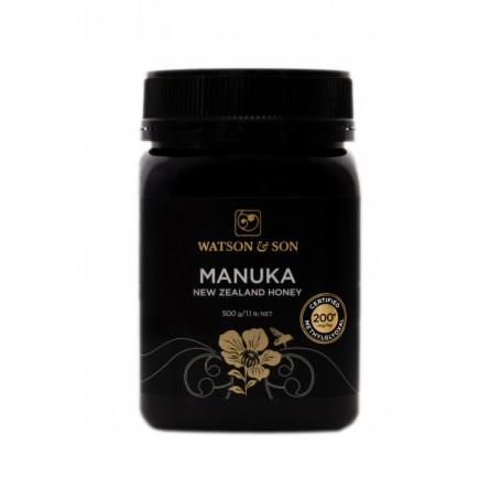 Miere de Manuka MGO 200+ ( UMF 8+) 500 g Watson & Son pret ieftin
