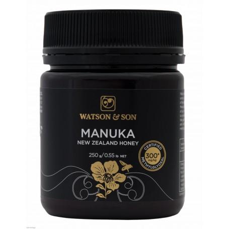 Miere de Manuka MGO 300+ ( UMF 10+) 250 g Watson & Son pret ieftin