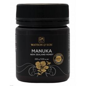 Miere de Manuka MGO 400+ ( UMF 12+) 250 g Watson & Son