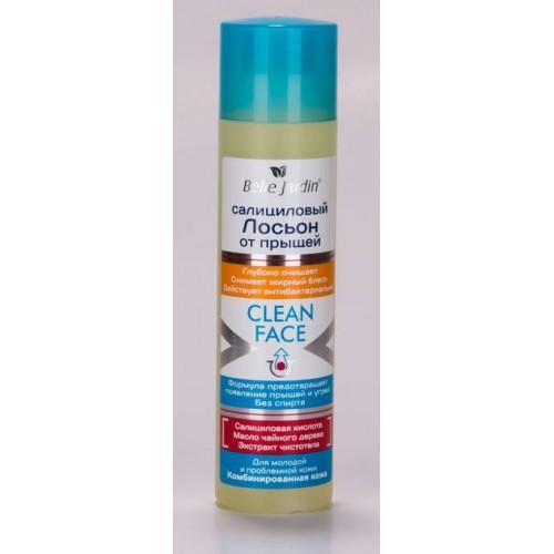 Clean Face Lotiune Antiacnee cu Acid Salicilic si Rostopasca - 150 ML