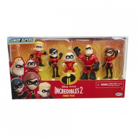 Set 5 Figurine Cu Articulatii-Incredibles 2