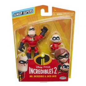 Set 2 Figurine Dl. Incredibil Si Jack-Jack