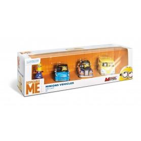Minions- Set 4 Vehicule