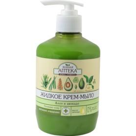 Sapun Lichid cu Extracte de Aloe si Avocado - 460 ML