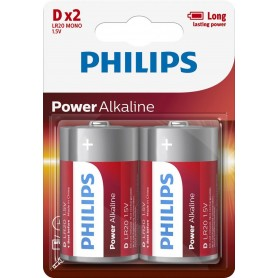 Ph Power Alkaline D 2-Blister