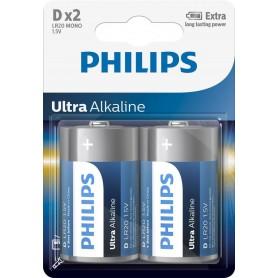 Baterii Ph Ultra Alkaline D 2 Buc