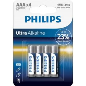 Baterii Ph Ultra Alkaline Aaa,4 Buc