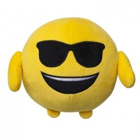 Jucarie De Plus Emoji Emoticon (Smiling Face With Sunglasses) 18 Cm