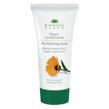 Masca de Fata Revitalizanta cu Galbenele 100ML - Cosmetic Plant