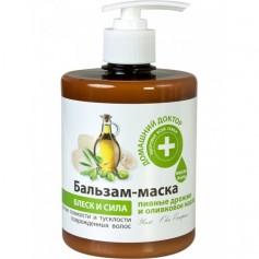 Balsam Masca pentru Par Deteriorat cu Extract de Drojdie si Ulei de Masline Doctorul Casei - 500 ML