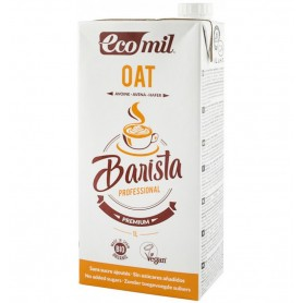 """ECOMIL - """"Barista"""", bautura vegetala bio de ovaz pentru cafea, 1L"""