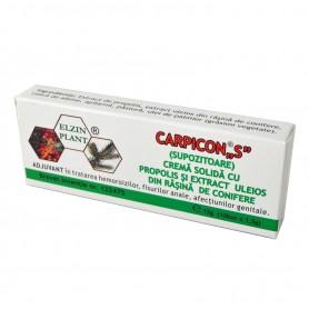 """Carpicon ,,S"""" Supozitoare 10x 1.5 g"""