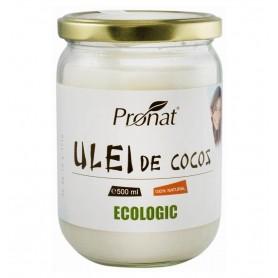 Ulei de cocos RBD Bio, 500 ml