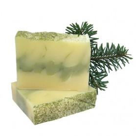 Sapun Natural cu Pin si Argila Verde Prisaca Transilvania - 100 g
