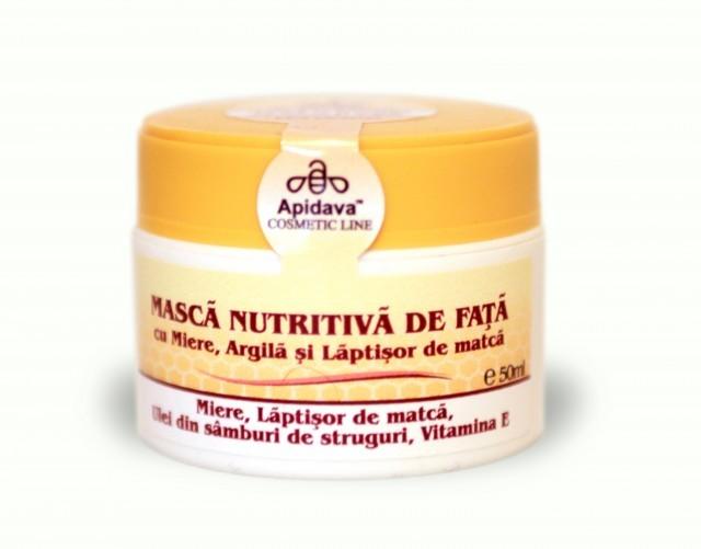 Masca Nutritiva de Fata Apidava Prisaca Transilvania - 50 ML