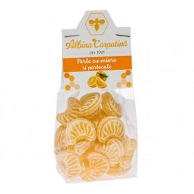 Perle cu Miere si Portocale Albina Carpatina - 100 g