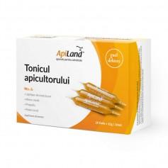Tonicul Apicultorului Conventional Apiland - 20 fiole x 12 g