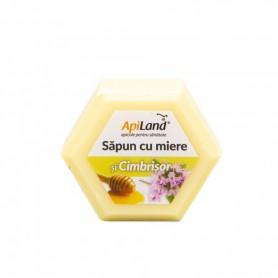 Sapun cu Miere si Cimbrisor Apiland - 100 g