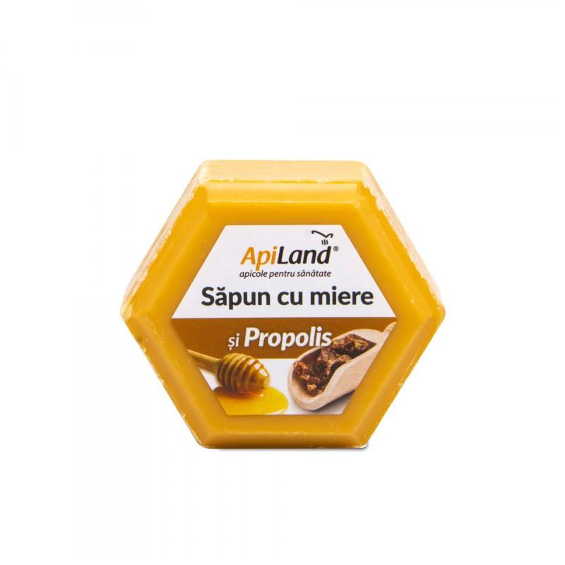 Sapun cu Miere si Propolis Apiland - 100 g