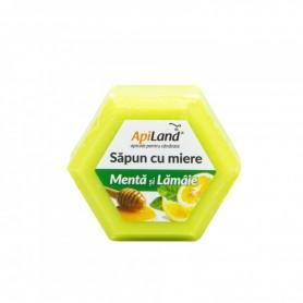SAPUN NATURAL MENTA/LAMAIE 100GR APILAND