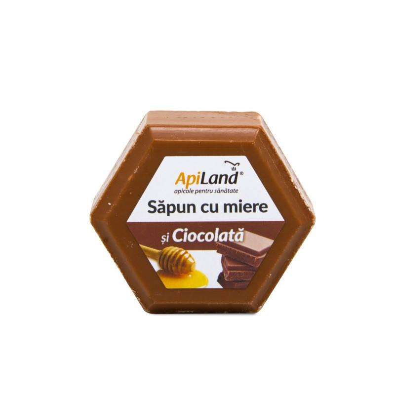 Sapun cu Miere si Ciocolata Apiland - 100 g