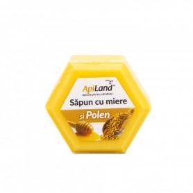 Sapun cu Miere si Polen Apiland - 100 g
