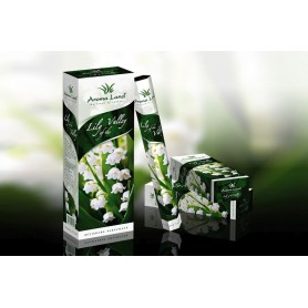 Cutie cu 6 Pachete a cate 20 Betisoare Parfumate Lily of the Valley