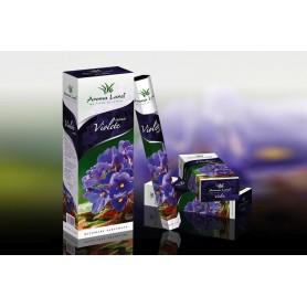 Cutie cu 6 Pachete a cate 20 Betisoare Parfumate Violete