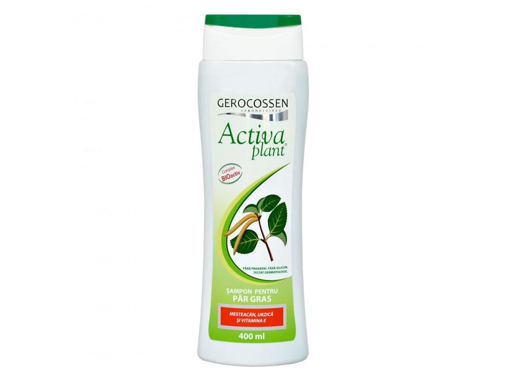 Sampon pentru Par Gras, Activa Plant, Gerocossen - 400 ML