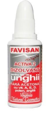 Dizolvant de Unghii fara Acetona Favisan - 30 ML