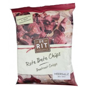 Chipsuri Bio de Sfecla Rosie De Rit Organics - 75 g