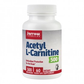 Acetyl L-Carnitine 500 mg, 60 cps Secom